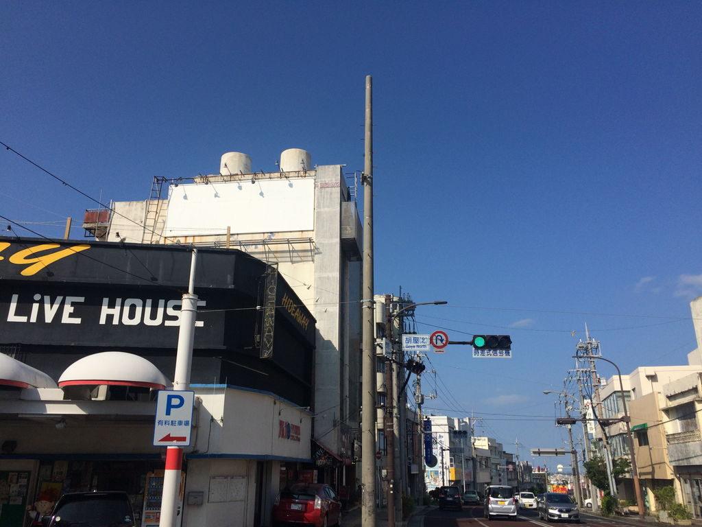 胡屋(北)の信号