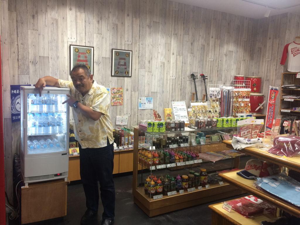 沖縄市観光物産振興協会事務局長の山田一誠さん