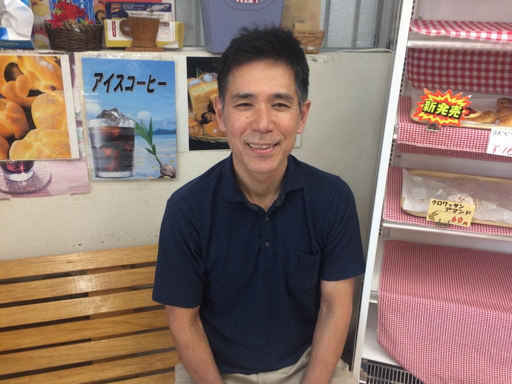 コザベーカリー社長の崎原清正さん
