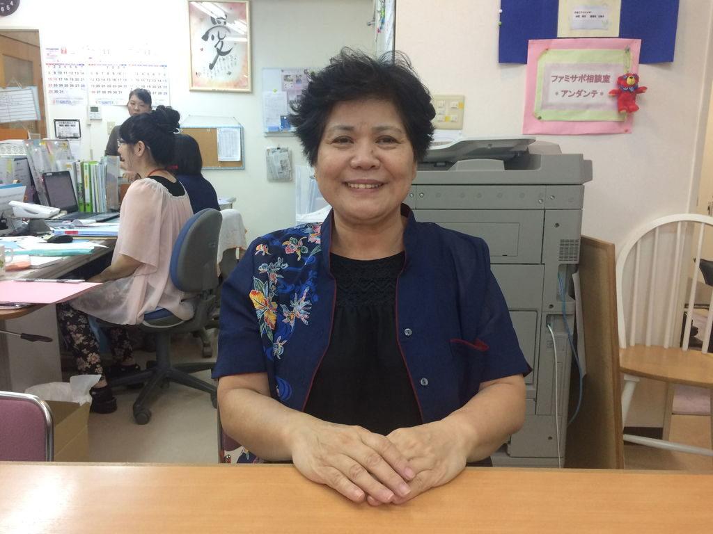 こども家庭リソースセンター沖縄の理事長與座初美さん
