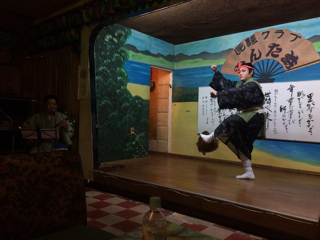 琉球芸能の男踊り
