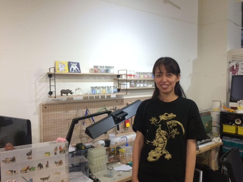 オフィスニーフェ店主の濱田さん