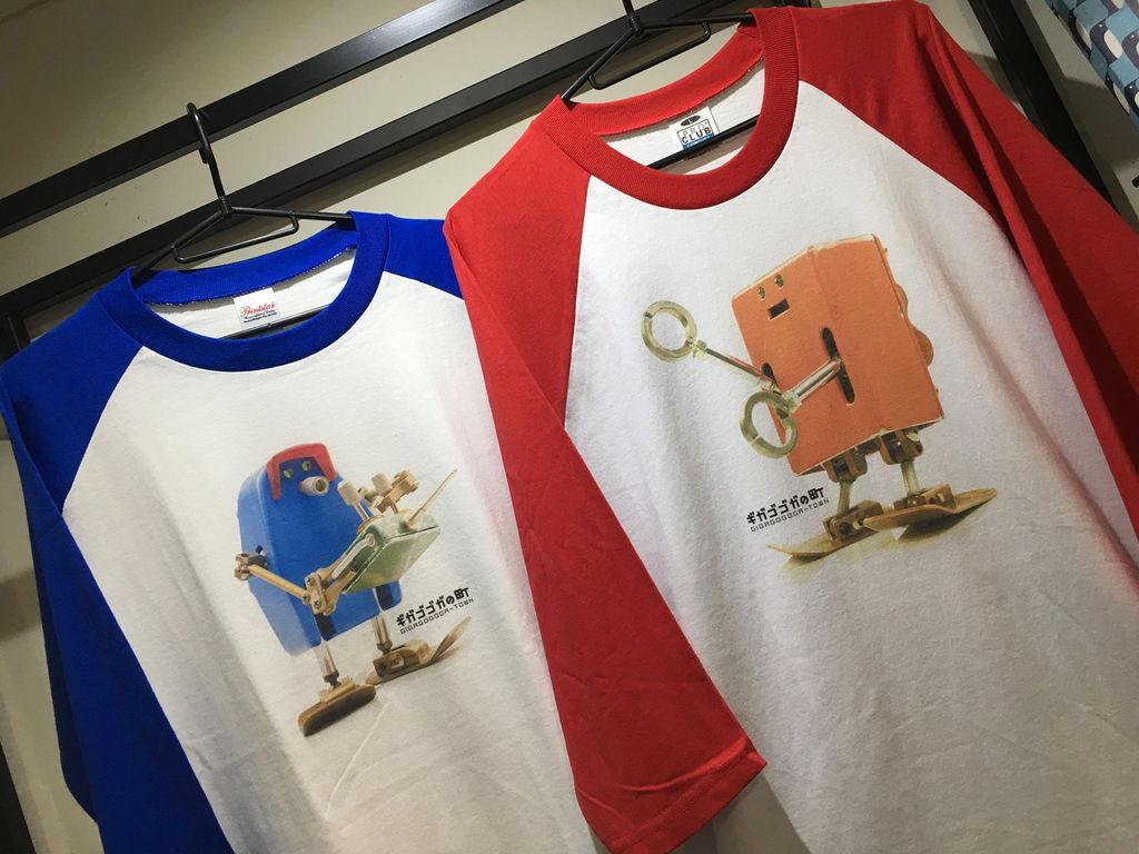オフィスニーフェのコマ撮りアニメフィギュアTシャツ