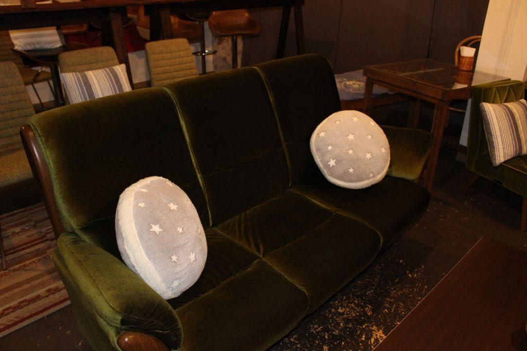 シアタードーナツのソファー