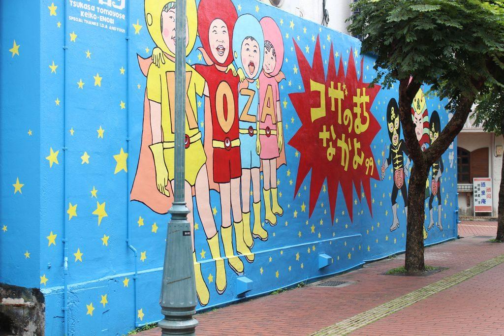 パルミラ通りの壁画