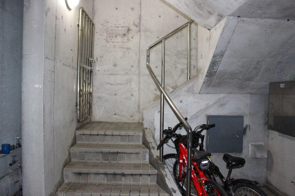 コザ麦酒工房の階段