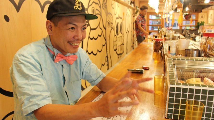 ワインから鳥の半身焼きまでリーズナブルな価格で楽しめるデンスケストア(DENSUKE STORE)【沖縄市コザ】
